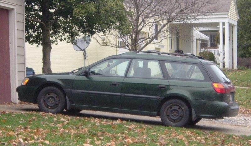 Green-Subaru-Legacy