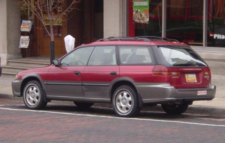 Maroon-Subaru-Outback