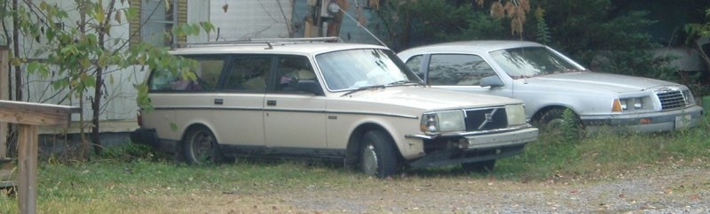 Older-Volvo-wagon-in-the-weeds