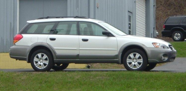 White-Subaru-Legacy-Outback-wagon